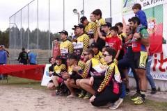 pódio equipas