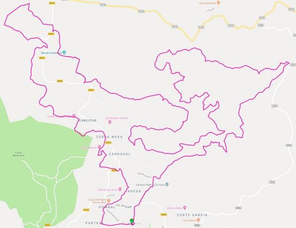 2019 10 20 Regional XCM Mapa